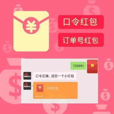 公众号口令订单红包-1.1.3 源码模块